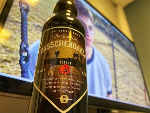 Paschendale Porter van Brouwerij van Honsebrouck
