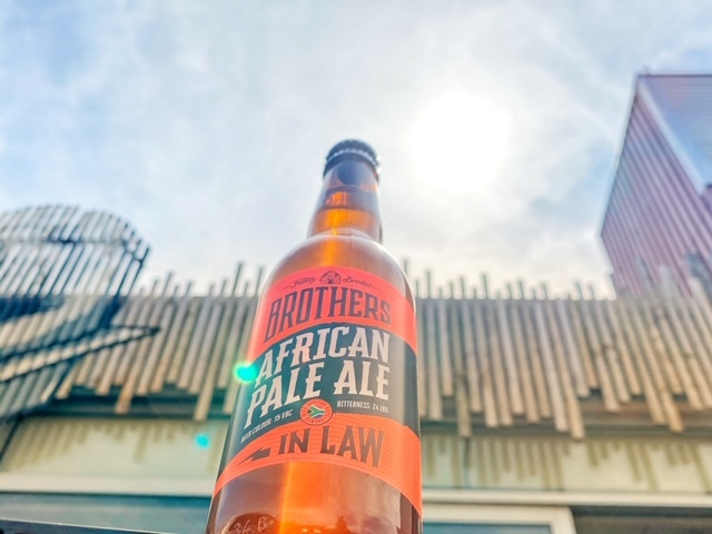 African Pale Ale van Brothers In Law Brewing