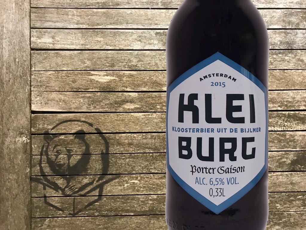 Kleiburg Porter Saison van Brouwerij Kleiburg