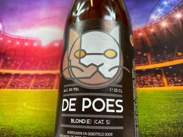 Poes Blond van Brouwerij de Poes