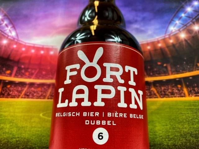 Fort Lapin Dubbel van Brouwerij Fort Lapin