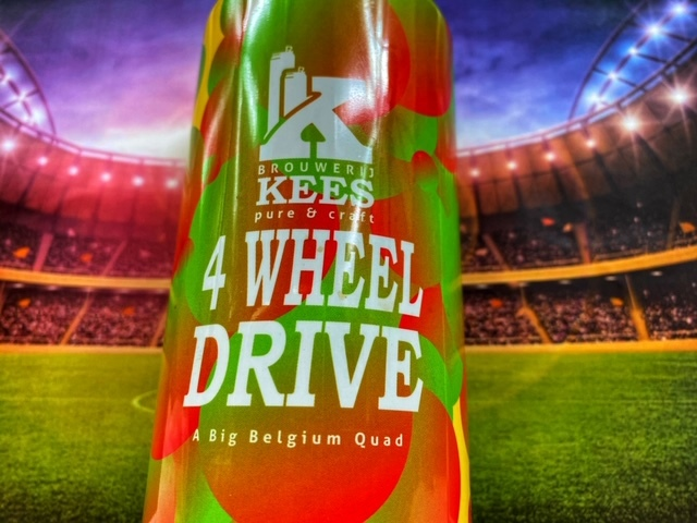 Four Wheel Drive van Brouwerij Kees!