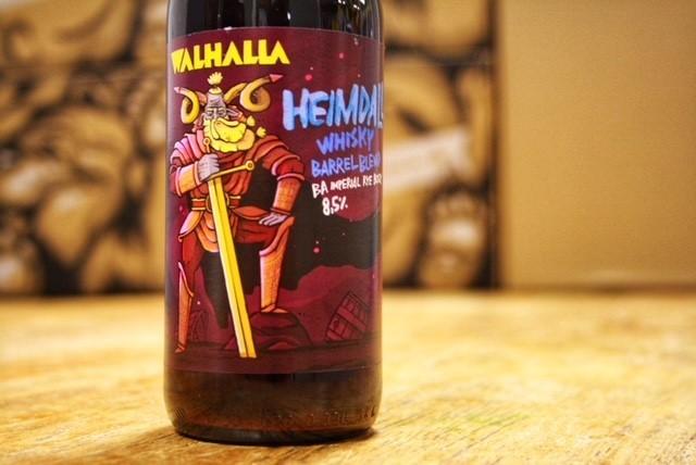 Heimdall Whiskey Barrel van Walhalla