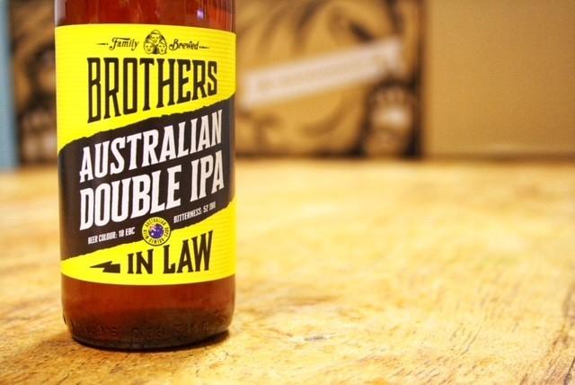 Double Australian IPA van Brothers In Law Brewing