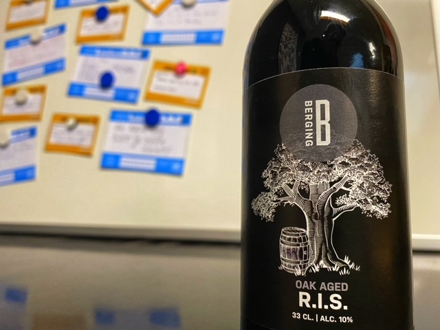 S6 Oak Aged Imperial Stout van Berging Brouwerij