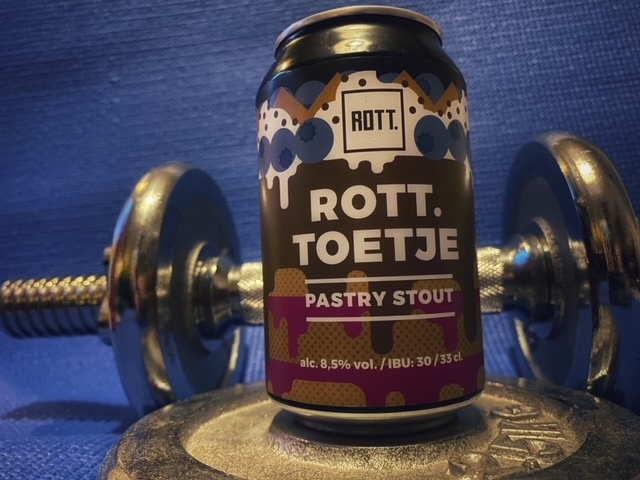 ROTT.toetje (2020; can version) van ROTT. Brouwers