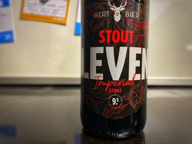 Stout Leven van Hert Bier