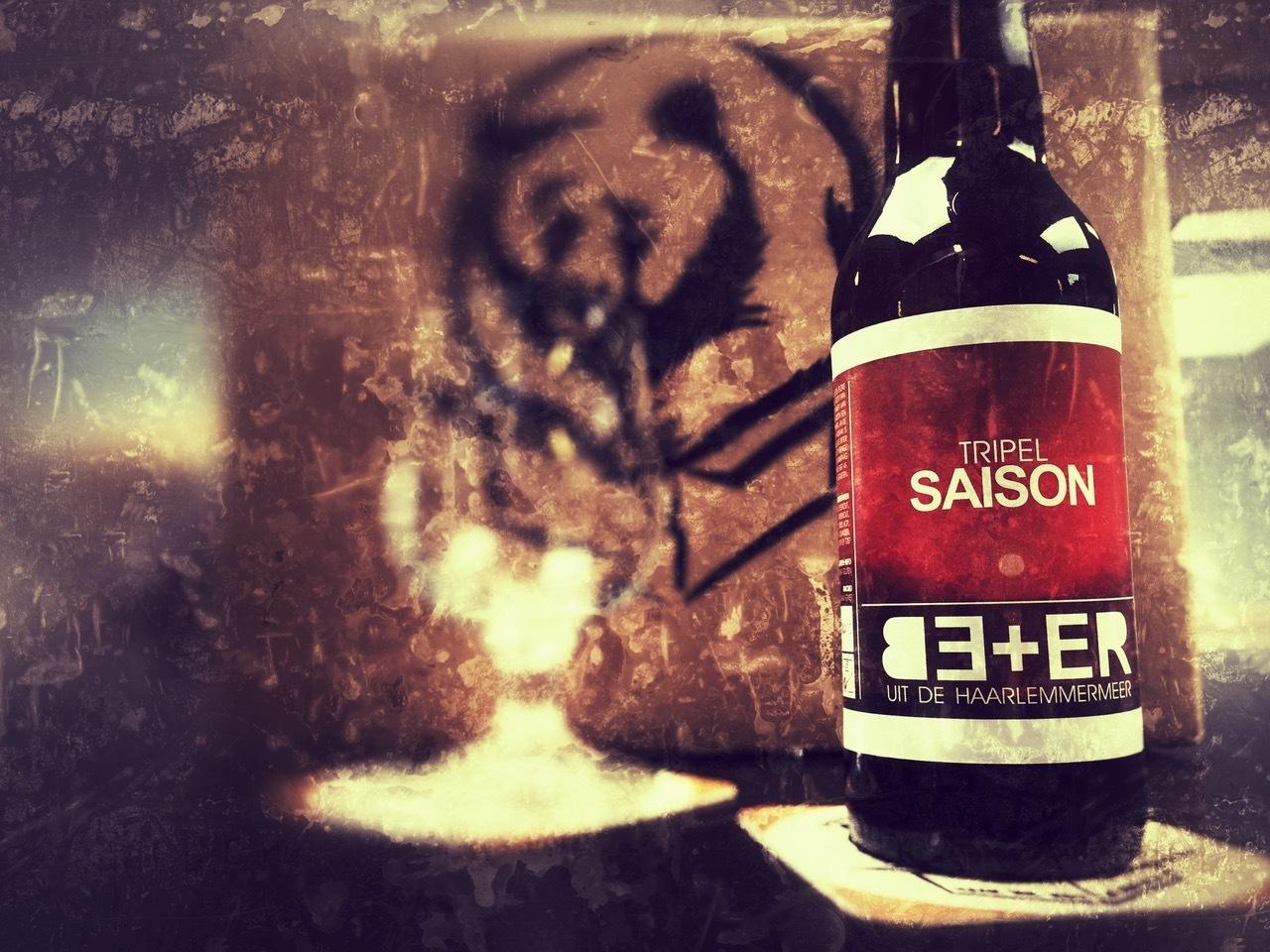 Tripel Saison van BE+ER Bierbrouwers