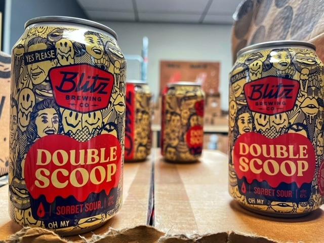Double Scoop van Blitz Brewing Co.