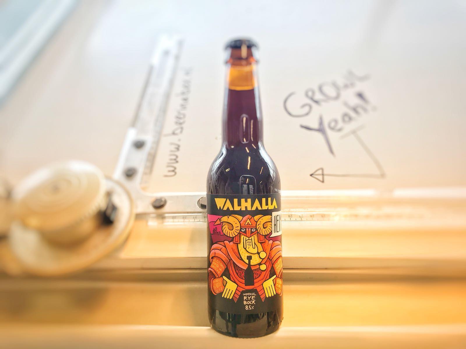 Heimdall Imperial Rye Bock van Walhalla Craft Beer