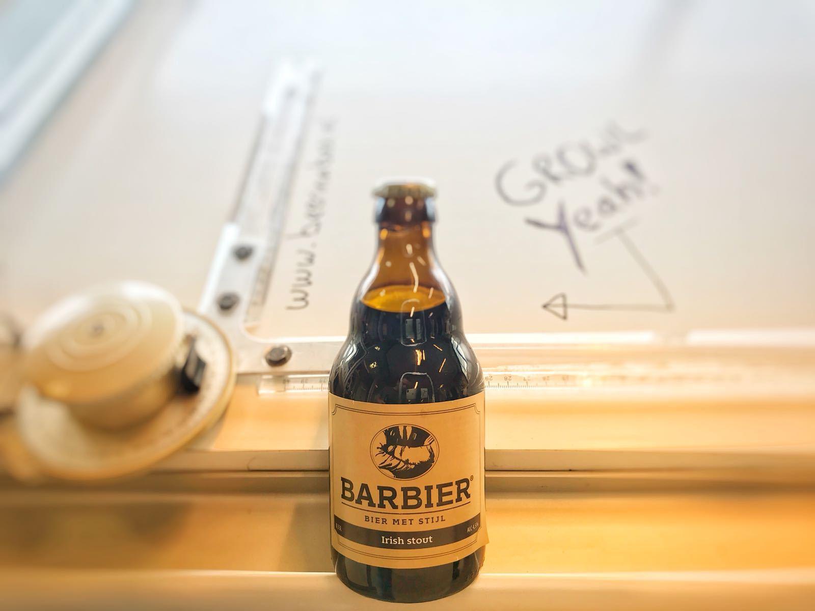 Barbier Irish Stout van Barbier