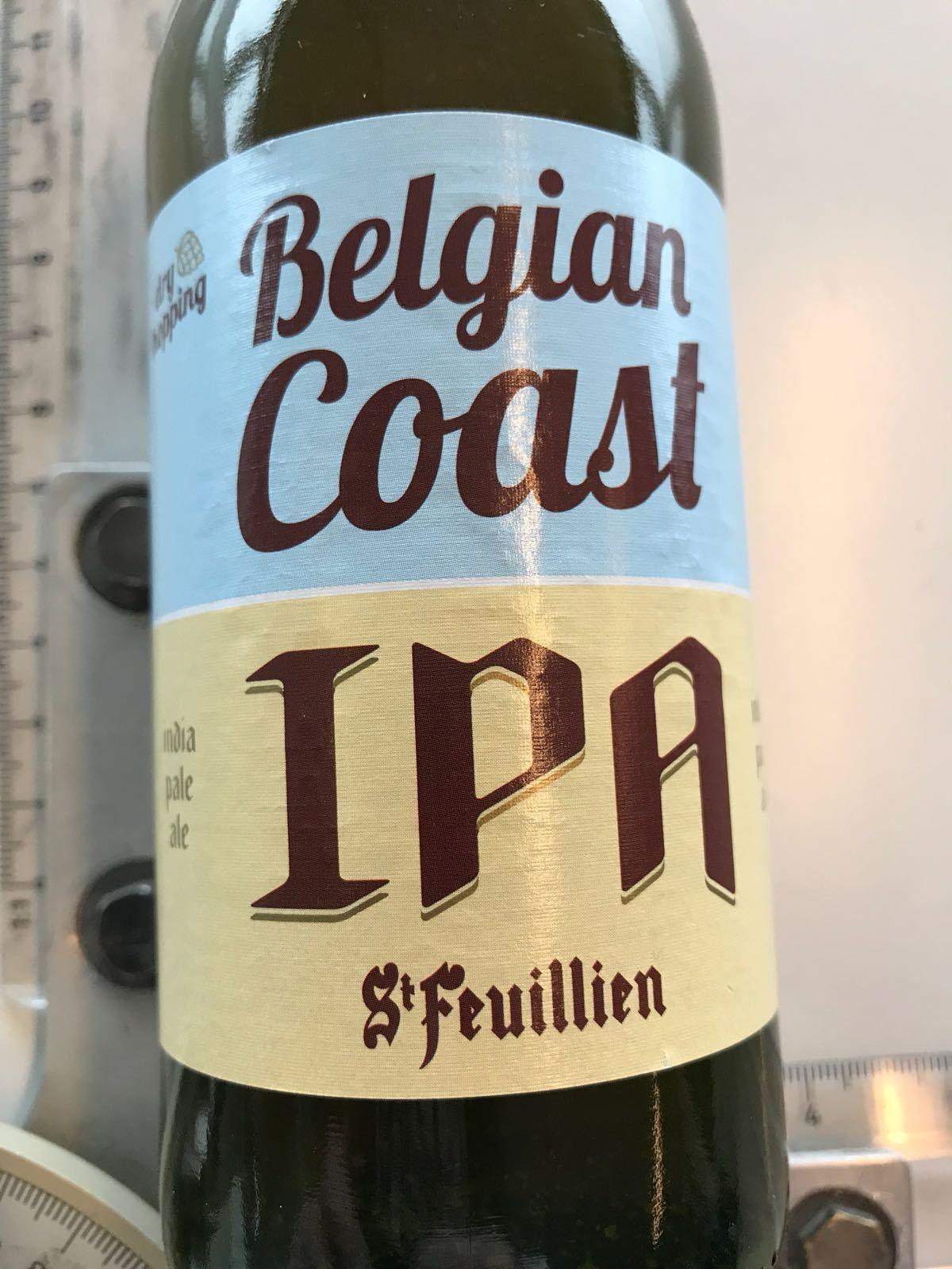 Belgian Coast IPA van Brasserie St. Feuillien