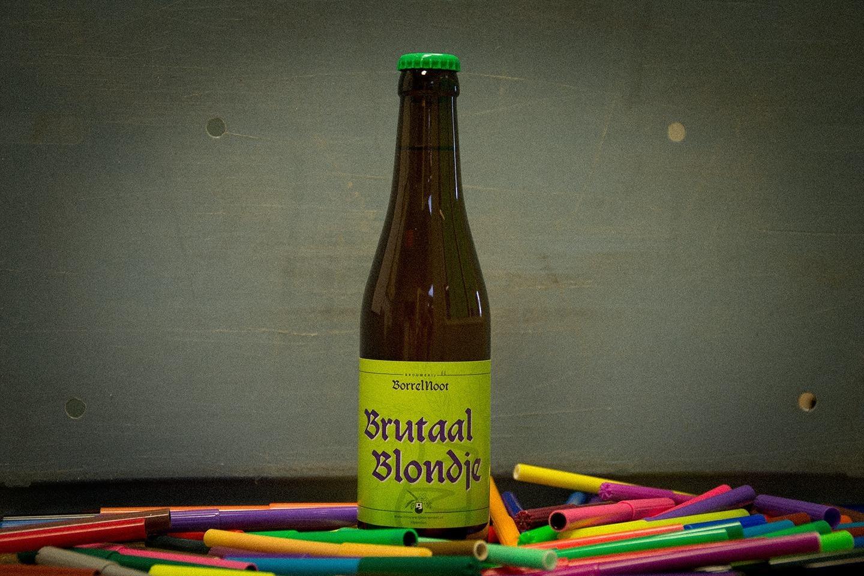 Brutaal Blondje van Brouwerij BorrelNoot