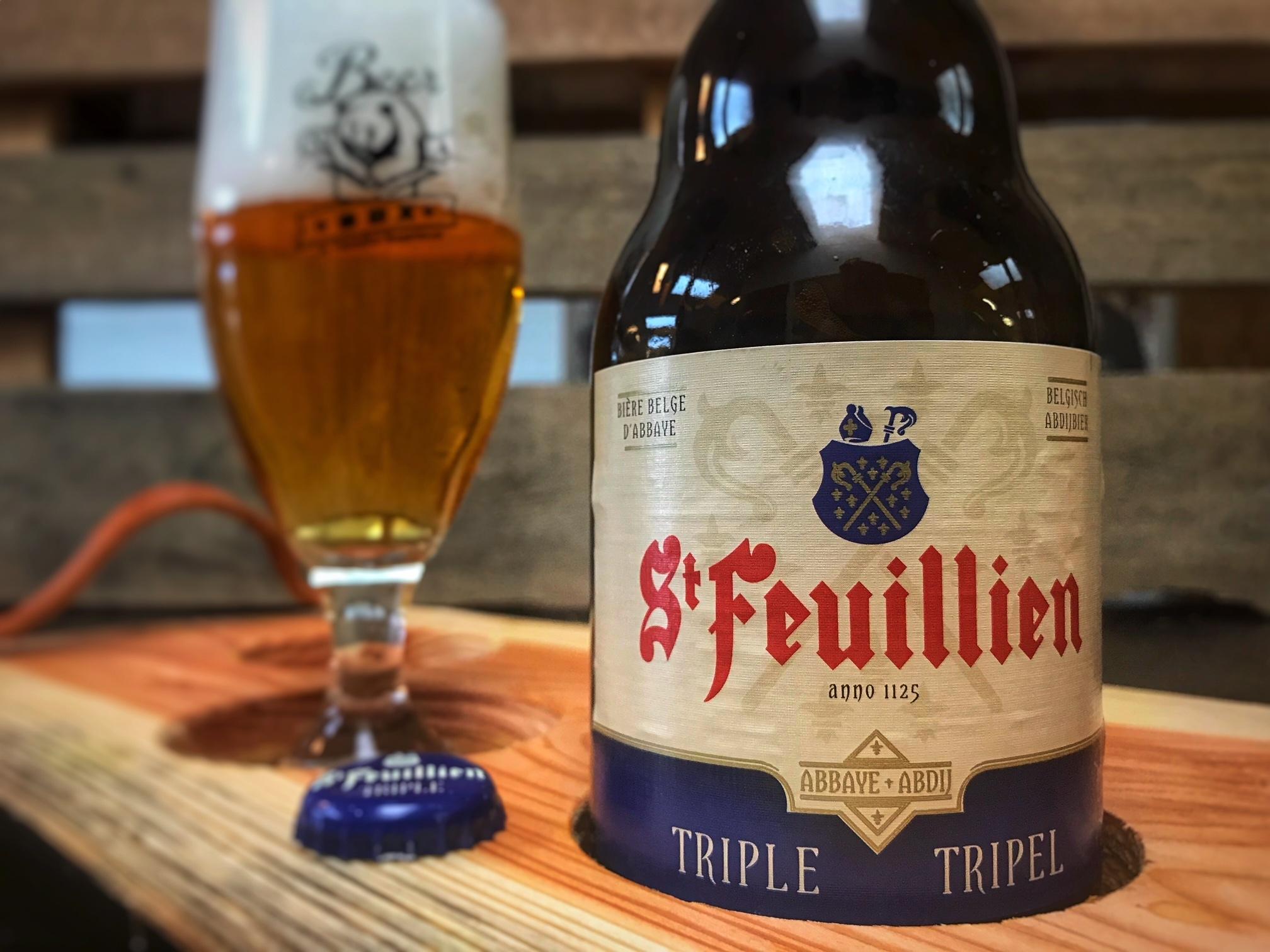 St Feuillien Tripel van Brasserie St. Feuillien