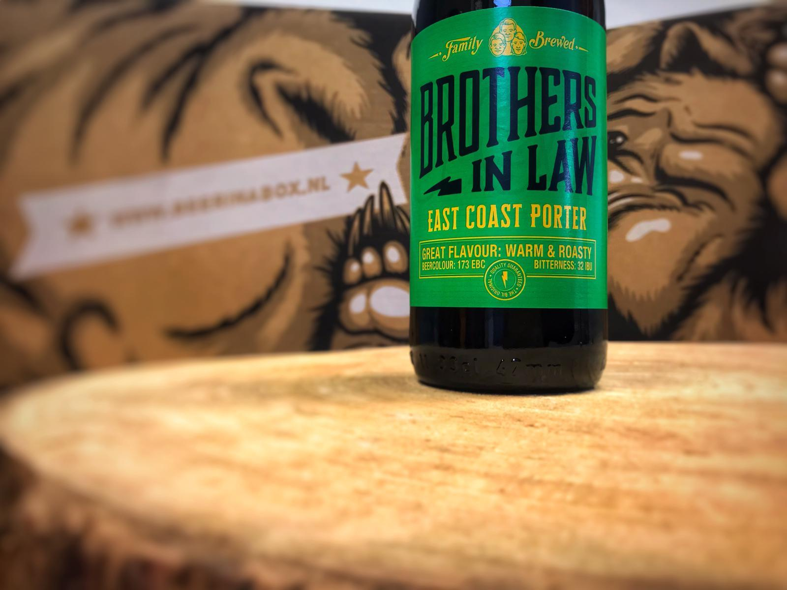 East Coast Porter van Brothers In Law Brewing