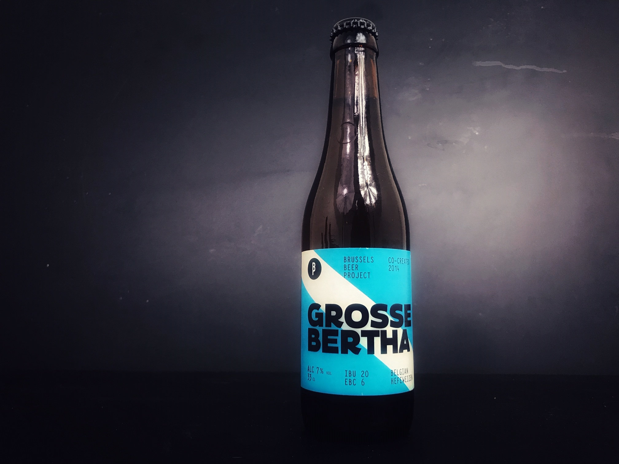 Grosse Bertha van Brussel Beer Project