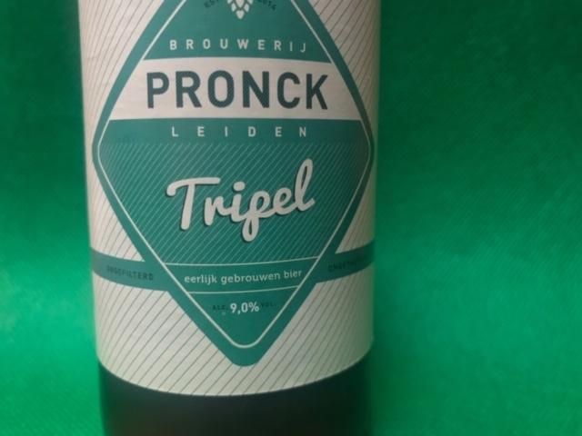 Pronck Tripel van Brouwerij Pronck