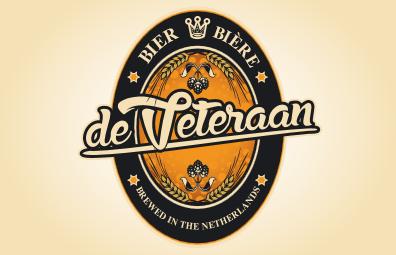 Logo van Brouwerij De Veteraan gevestigd in Emmen uit Nederland