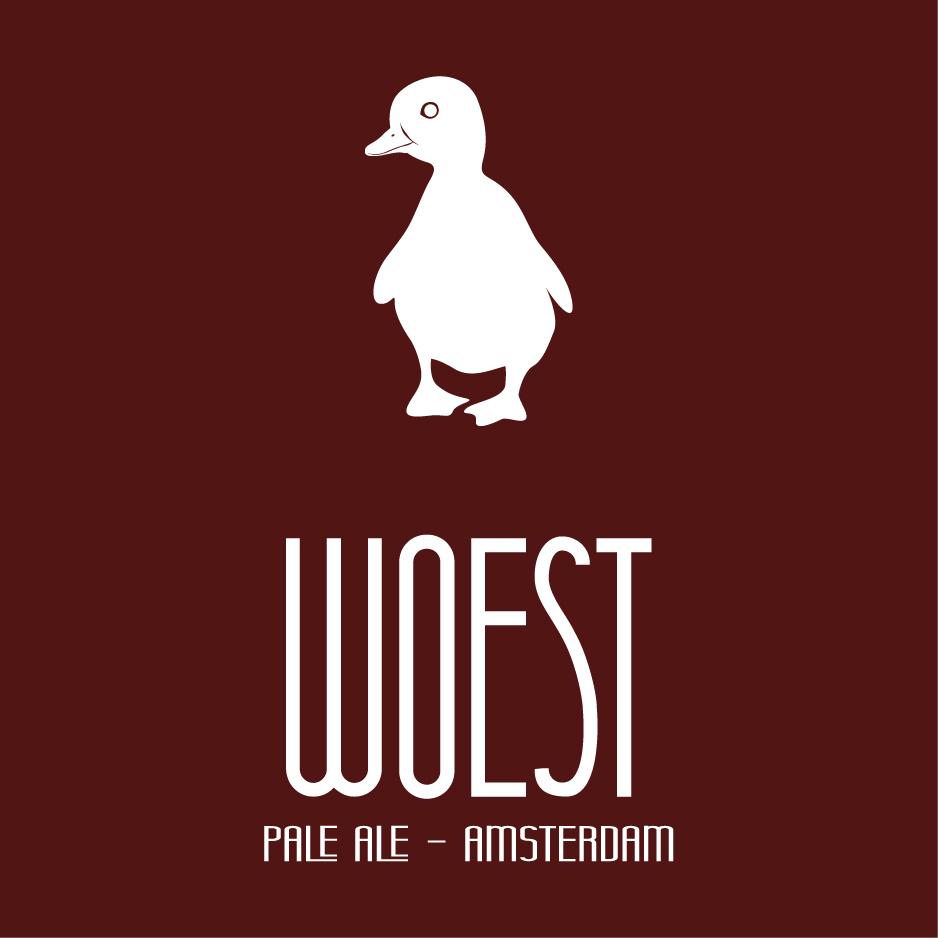 Logo van Brouwerij Woest i.o. gevestigd in Amsterdam uit