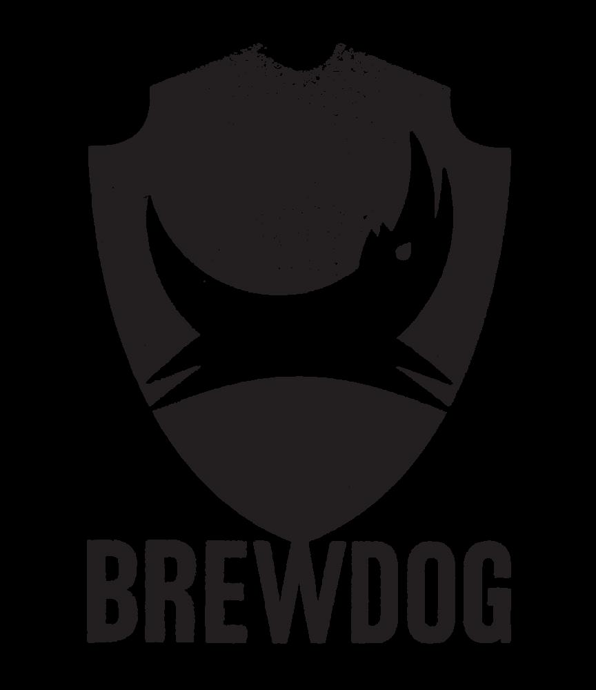 Logo van Brewdog gevestigd in Fraserburgh uit Schotland