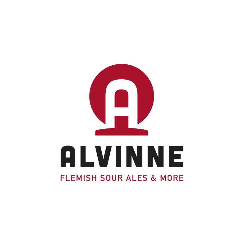 Logo van brouwerij Alvinne gevestigd in Moen uit België