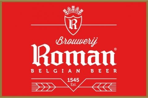 Logo van Brouwerij Roman gevestigd in Oudenaarde uit Belgie