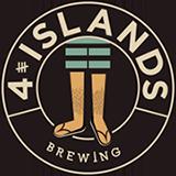 Logo van 4 Islands Brewing gevestigd in Rotterdam  uit