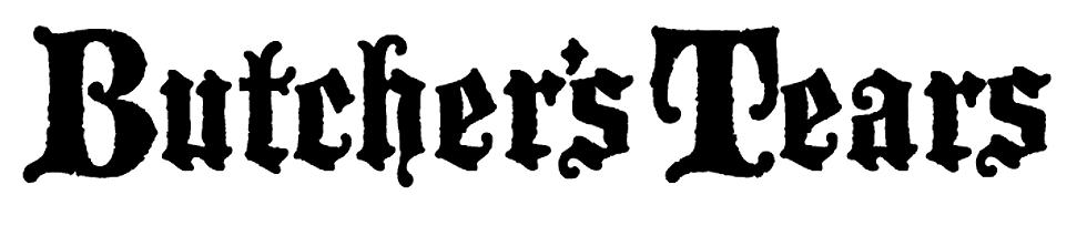 Logo van Butcher's Tears gevestigd in Amsterdam uit Nederland