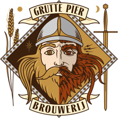 Logo van Grutte Pier Brouwerij gevestigd in Leeuwarden uit Nederland