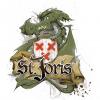 Logo van Stadsbrouwerij Sint Joris i.o. gevestigd in Breda uit Nederland