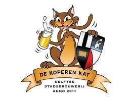 Logo van Stadsbrouwerij De Koperen Kat gevestigd in Delft uit Nederland