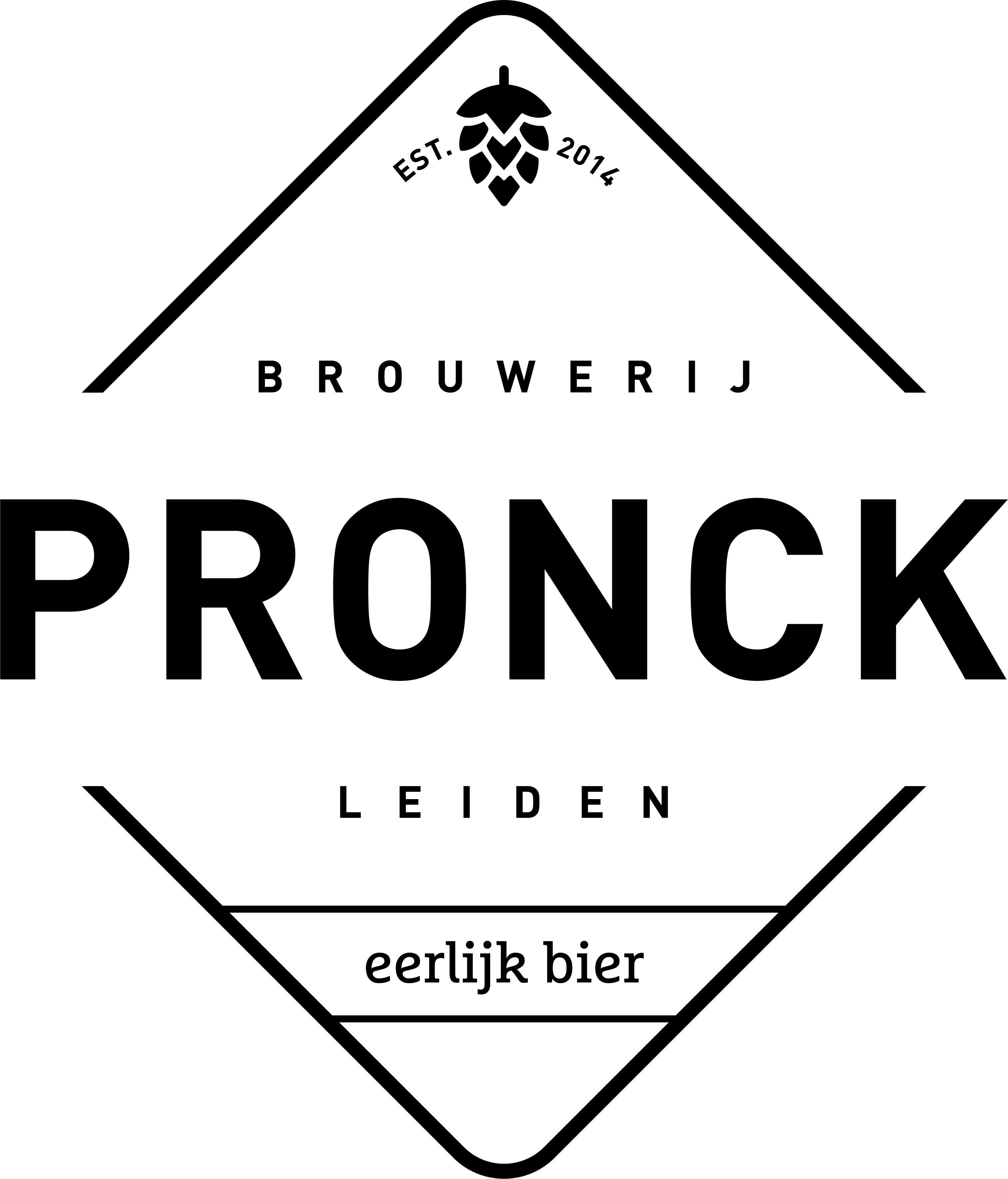 Logo van Brouwerij Pronck gevestigd in Leiden uit NL