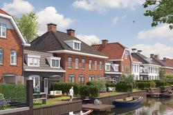 Fixed watervillas en tweekap oegstgeest aan de rhijn