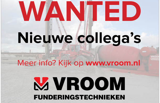 Default vacature shovel en graafmachinist met foto wanted website