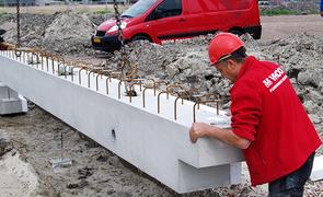 Thumb betonbouw
